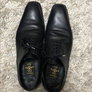 Classic DG Dolce and Gabbana Men's Shoes Black